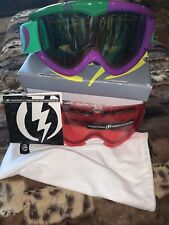 Electric Snowboarding Goggles Mod Purple 207-11938