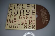 Finley Buaye - It's great when we're together. CD-Single Promo (ESP)