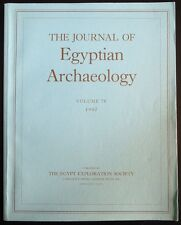 The Journal of Egyptian Archaeology Volume 78 1992 The Egypt Exploration Society