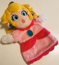 Official Nintendo Super Mario Hashtag Collectibles Plush Princess Peach Puppet