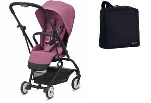 Cybex Eezy S Twist 2 Stroller, Magnolia Pink + FREE Travel Bag - NEW SEALED BOX!