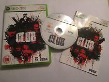 XBOX 360 SEGA GAME CLUB +BOX & INSTRUCTIONS COMPLETE PAL