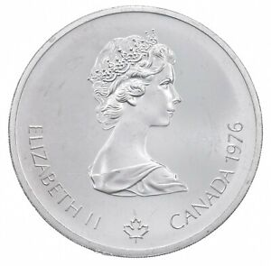 1976 $10 Canadian Canada Olympic Silver Coin *490