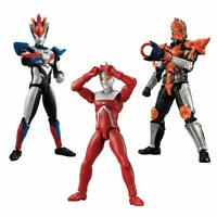 BANDAI CHODO Ultraman 3 10pcs (All 6) Figure Candy Toy w/ Tracking NEW