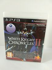 White Knight Chronicles 2 PS3 With Chronicles 1 *in Excellent Condition*