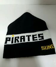Pittsburgh Pirates Winter Hat Cap Beanie Vintage Sonoco Made in the USA Black