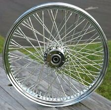 "DNA Chrome 21"" X 3.5"" 80 Spoke Front Wheel Rim 2000-2007 Harley Touring Bagger"