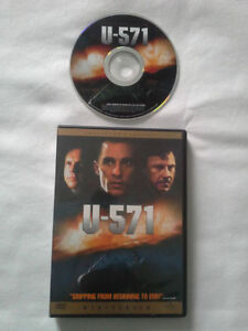 Like New DVD U-571 Matthew McConaughey Bill Paxton Harvey Keitel Thomas Kretschm