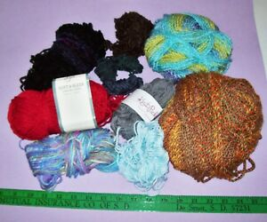 Lot of Partial Yarn Skeins