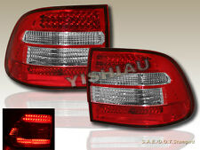 03-06 PORSCHE CAYENNE TURBO/S TAIL LIGHTS RED/CLEAR LED NEW