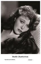 RUTH CHATTERTON actress PIN UP PHOTO postcard A610/1 Film Star 2000 Mint