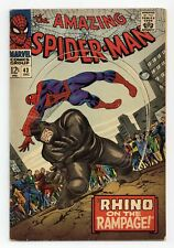 Amazing Spider-Man #43 GD+ 2.5 1966 1st full app. Mary Jane