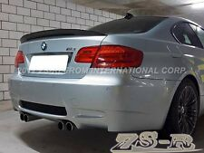07-12 BMW V-Type Carbon Fiber Diffuser + New P- Style trunk spoiler E92 M3 Coupe