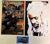 Walking Dead #183 A + B Bill Sienkiewicz Ezekiel Variant Set Image 2018 NM