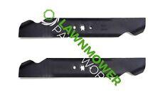 (2) Lawn Mower Blades for Cub Cadet LTX1045 LTX1046 LTX1046VT 742-04244