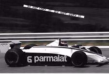 9x6 fotografía Ricardo Zunino F1 Brabham BT49 1980 temporada de Grand Prix