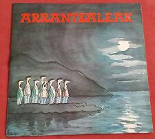 ARRANTZALEAK  LP ORIG  CHANT BASQUE N°4 AGORILA  ART COVER MICHEL ITURRIA