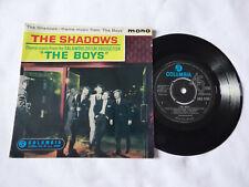 "THE SHADOWS ~ THE BOYS ~ EX/EX ~ 1962 UK 1ST PRESS RnR 7"" VINYL EP ~ NICE AUDIO"