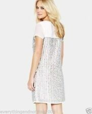 Sequin Party Short Sleeve Tunic Dresses for Women