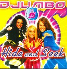 DJUMBO - Hide and Seek CDS 2TR 2004 BUBBLEGUM EURODANCE Dutch RARE!