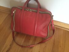 Authentic See By Chloe Leather Red Bag