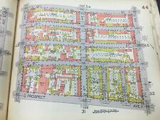 1929 E. BELCHER HYDE PARK SLOPE BARTEL PRITCHETT SQUARE BROOKLYN NY ATLAS MAP