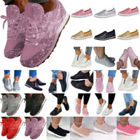 Damen Sneaker Sportschuhe Turnschuhe Laufschuhe Trainers Mode Gym Freizeitschuhe