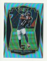 2020 Panini Select Rookie RC Darnell Mooney Premier Level Silver Prizm #200 SP
