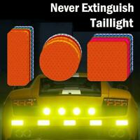 9* Car Motorcycle Truck Reflective Stickers reflective tape Safety Warning Decal