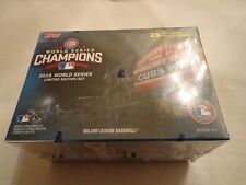 2016 Chicago Cubs Topps World Series Champions Limited Edition 25 CARD TEAM Set
