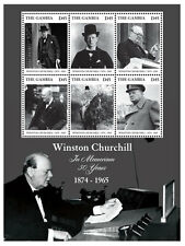 Gambia - Sir Winston Churchill - Sheet of 6 stamps - 2015 MNH