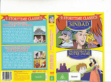 The Fantastic Voyages of Sinbad-1993/The Hunchback of Notre Dame-2 Animated-DVD