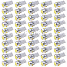 50PCS T10 White 168 194 Cree LED Canbus Bulb Back Up Reverse Light