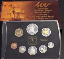 2004 Canada Proof set 400TH FIRST FRENCH SETTLEMENT IN NORTH AMERICA