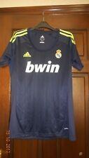 Camicia calcio da uomo-REAL MADRID-S-AWAY 2012/13 - ADIDAS-Blu & Giallo