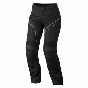 Alpinestars Stella AST-1 Ladies Moto Motorcycle Textile Trouser Black / White