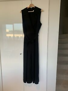 VERONIKA MAINE Black Work Jumpsuit - Size 16