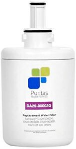 Puritas Replacement DA29-00003G Refrigerator Water Filter (Pur-03) Made In The U