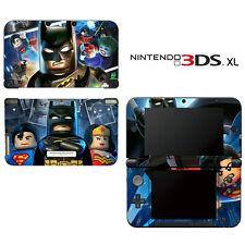 Vinyl Skin Decal Cover for Nintendo 3DS XL LL - Batman Super Heroes
