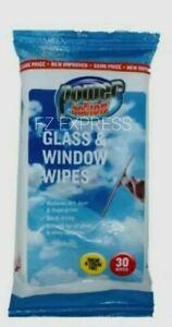 Window Wipes Glass Wipes Window cleaning Wipes Streak and Smear Free x 1