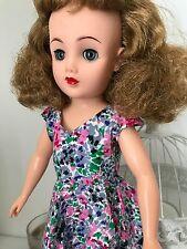 Floral Dress for Vintage Teenage Fashion Doll