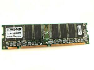 KINGSTON KTA-G4133/256  168 PIN SDRAM 256MB PC-133 NON ECC  UK SELLER   fcb11.12