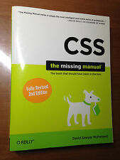 CSS: The Missing Manual (Second 2nd Edition) 2009 O'REILLY BOOK
