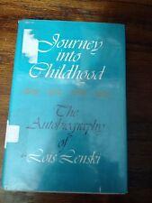 JOURNEY INTO CHILDHOOD, Lois Lenski Autobiography