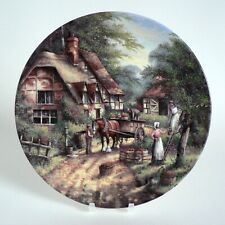 WEDGWOOD THE APPLE PICKERS 1991 LIMITED EDITION PLATE CHRIS HOWELLS BONE CHINA