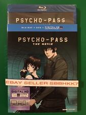 Psycho-Pass: The Movie Blu-ray + DVD + DIGITAL HD & SLIPCOVER AUTHENTIC READ