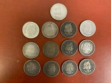 Lot of (13) 1892 & 1893 SILVER Comm. COLUMBIAN EXPOSITION HALF DOLLARS (pink)