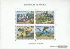 Monaco Block49 (kompl.Ausg.) postfrisch 1990 Die vier Jahreszeiten