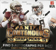 Panini Contenders Draft Picks Football Hobby Box