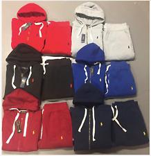 Polo Ralph Lauren Sweat Suit Complete Suit Full Zip Hoodie Brand New